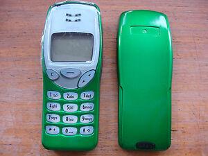 Metallique-Vert-Nokia-3210-Telephone-Portable-Nse-8-Teste-Grade-A-Renove