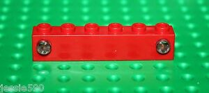 LEGO-ref-4170-Electric-Train-Light-Prism-1x6-Holder-Red-2-Prism-ref-4171-rare