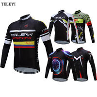 2017 Long Sleeve Mens Cycling Jersey Jackets Bike Clothes Spring Summer Clothing