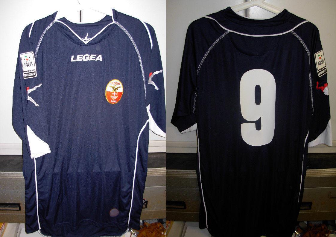 Maglia shirt cuneo calcio errea L nr 9