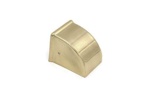 "1 3//4/"" Furniture Leg End Cap Toe Caps Plain Duncan Phyfe Toe Cap Brass Lg"