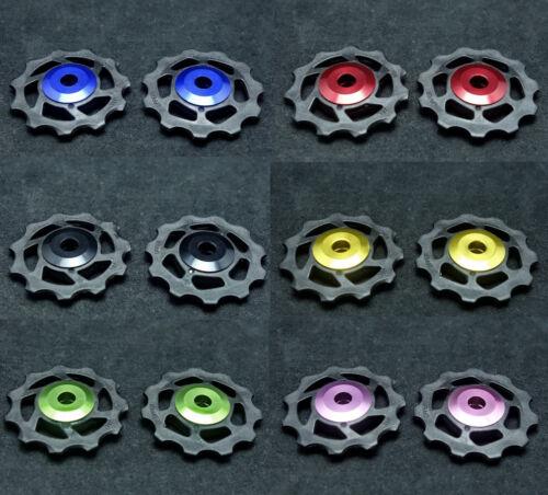 J/&L 11T Ceramic Derailleur Pulley//Jockey* 2 For Shimano,SRAM,Campagnolo-6g
