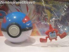 POKEMON Sun Moon GET COLLECTIONS ROTOM POKEDEX Plastic Figure Toy NINTENDO BALL
