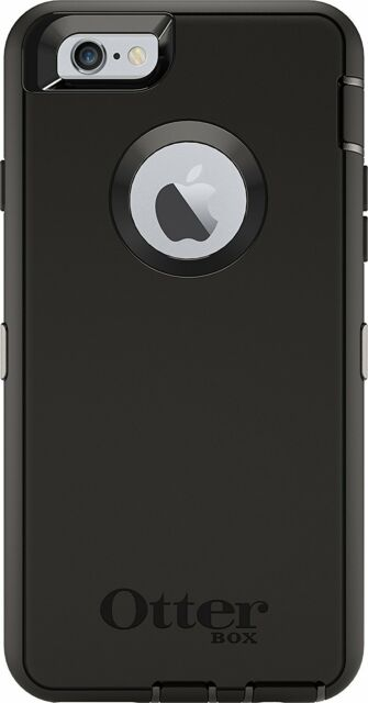 OtterBox DEFENDER SERIES Case for iPhone 6 & iPhone 6s, Black