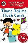 Ladybird Homework Helpers: Times Tables Flash Cards With Stickers by Ladybird (Hardback, 2009)