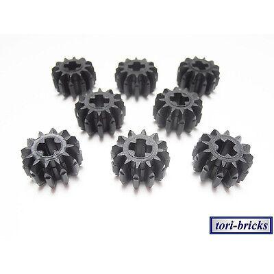 Zahnrad Gear 12 Zähne schwarz Nr 4177431 LEGO Technic 32270-20 Stk