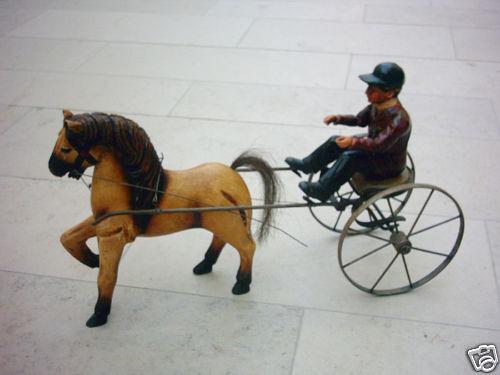 Figur Jockey mit Pferd Länge64cm Reitsport Reiter
