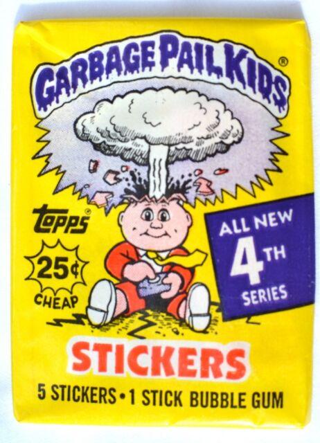 Topps Garbage Pail Kids Series 4 Wax Unopened/Sealed Pack (1986)