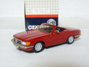 Century-AMR-2702-1-43-1975-Mercedes-Benz-500SL-White-Metal-Handmade-Model-Car