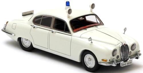 Jaguar S Type Police Neo Weiß 1 43
