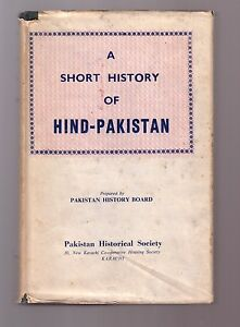 Image Is Loading A SHORT HISTORY OF HIND PAKISTAN Pakistan History