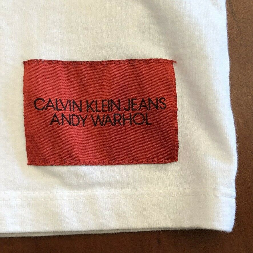 CALVIN KLEIN BY RAF SIMONS ANDY WARHOL PORTRAIT S… - image 5