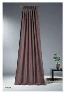 hochwertiger-Deko-Schal-mit-Faltenband-Achat-braun-Vorhang-mit-Gardinenband