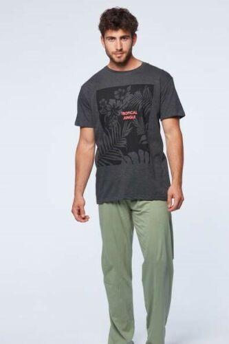 Ensemble pyjama homme HARRIS LEWIS bas long haut manches courtes taille L NEUF