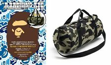 A Bathing Ape Bape Camo Shoulder Handbag Cylinder Bag From Japan Magazine