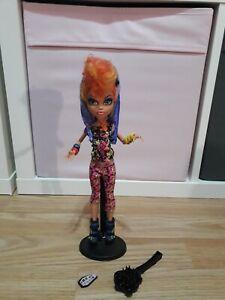 DernièRe Collection De Monster High Howleen Wolf Doll Rare!-afficher Le Titre D'origine RafraîChissant Et Enrichissant La Salive