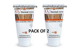 2XO3+ Dermal Zone Meladerm Intensive Skin Lightning Cream SPF40 50ML expiry 2019