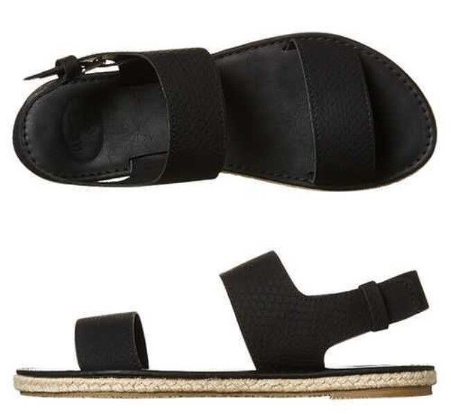 Kustom Womens Footwear  Anika Black Sandal  RRP $129  New in Box
