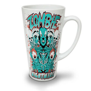 Nightmare Skeleton NEW White Tea Coffee Latte Mug 12 17 oz   Wellcoda