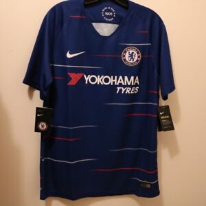 86a79715bf0 Image is loading Nike-Chelsea-FC-Official-2018-2019-Home-Soccer-