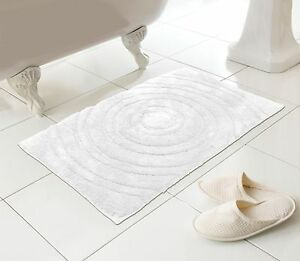 White-Bath-Mat-Large-Thick-Soft-Pure-Cotton-Fab-Quality-Made-for-M-amp-S