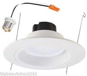 Cooper rl560wh r halo 56 recessed can light led retrofit kit ebay image is loading cooper rl560wh r halo 5 034 6 034 mozeypictures Images