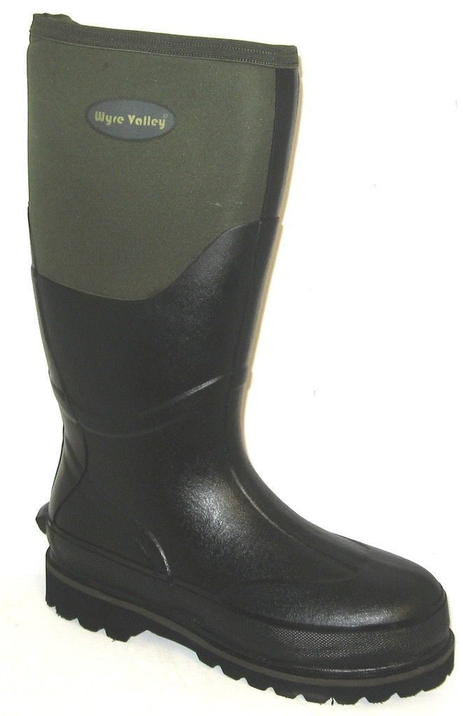 Uomo TRENT by  Dark Grün synthetic/Textile Wellington Stiefel by TRENT WYRE VALLEY 8241b2