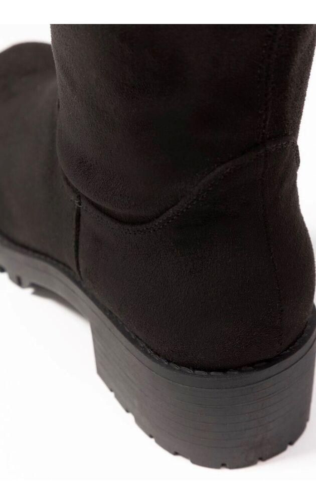 Anna Field Ankelstøvler Sort Damer Sko Støvletter Med Billig