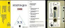 STATUS QUO K7 AUDIO HOLLANDE 1982