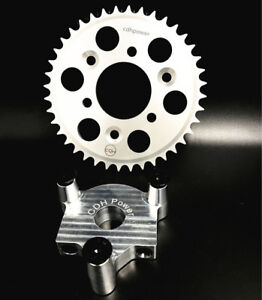 """CDHPOWER Bicycle Hub Adapter 1"""" and 40T sprocket - Gas Motorized Bicycle"""