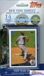2009-Topps-NY-Yankees-Stadium-Inaugural-Season-LE-Sealed-Set-Derek-Jeter-Mantle