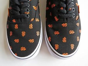 ec941f56f1 Vans MLB Baseball Team sports SF San Francisco Giants era mens shoe ...