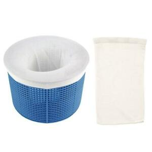 20-Pack-Pool-Skimmer-Socks-Filter-Savers-For-Baskets-Skimmers-Fine-Mesh-and-F1P5