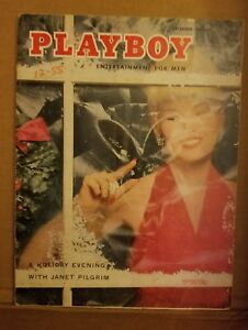 Playboy-Magazine-December-1955-Good-Condition-Free-Shipping-USA