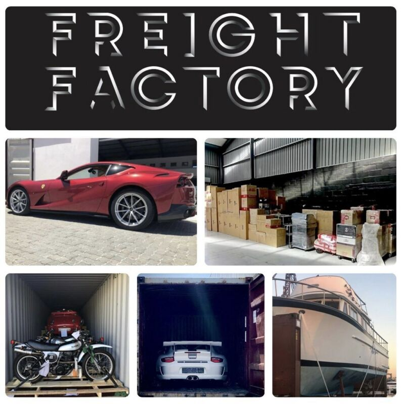 FREIGHT FACTORY - SHIPPING OF CARGO, VEHICLE IMPORT AND EXPORT