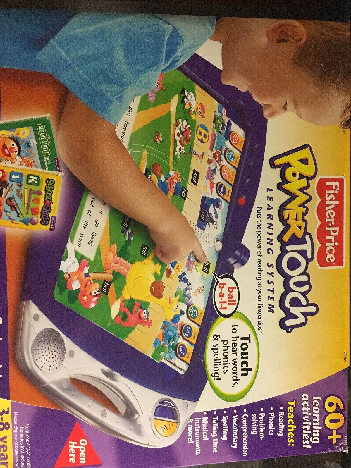 New FISHER PRICE POWER TOUCH LEARNING SYSTEM AGES 3-8 PRE K -2ND GRADE