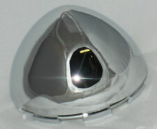 WELD 614-3072 MT100K81 F012-04 BULLET DOME CHROME WHEEL RIM CENTER CAP NO LOGO