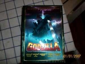 DVD COFANETTO GODZILLA IN LINGUA ORIGINALE