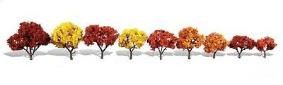 1.25in.-3in. Harvest Blaze - Pack Of 9 - Oo/ho Trees Woodland Scenics Tr3540 Sconto Del 50
