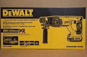Brand-New-DEWALT-DCH133M2-20V-Max-XR-Brushless-1-034-D-Handle-Rotary-Hammer-Kit