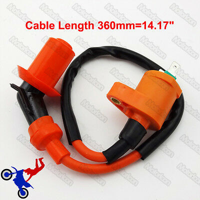 139QMB 157QMJ Ignition Coil For 50cc 125cc 150cc Moped Scooter ATV Go Kart Buggy
