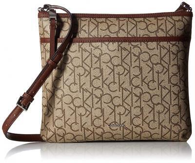 ORIGINAL CALVIN KLEIN Hudson Monogram Crossbody Shoulder Bag
