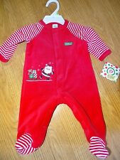 2643c5c74f514 item 3 Little Me Baby My First Christmas Santa Claus Red Sleeper 3 Months  NWT -Little Me Baby My First Christmas Santa Claus Red Sleeper 3 Months NWT