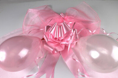 WEDDING TOP TABLE DECORATION DIY KIT - SWAGS BALLOONS BOWS - ALL COLOURS