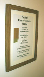 Oak Photo Picture Frame Mount 10x8 A4 12x8 10x10 9x9 Ebay