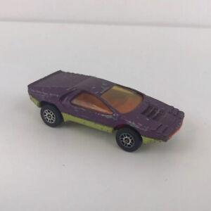 CORGI Juniors Whizzwheels Viola BERTONE CARABO modello auto Made in GB