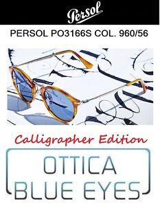 1ac48217daddc Occhiali da Sole PERSOL PO 3166S col. 960 56 calligrapher edition ...