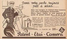 Y8912 Patent Etui Camera - Beney Frères - Pubblicità d'epoca - 1932 Old advert