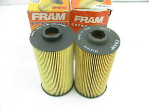 (2) Fram CH8213 Oil Filter Replaces 51186 L35280 P8198 LF481 P552422 85186