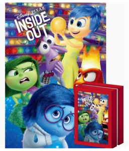 108 Piece Mini Multi Jigsaw Puzzle with Frame Disney Pixar Inside Out Emotions